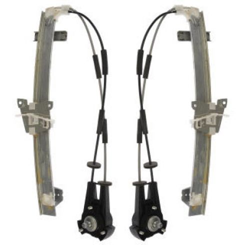 1986-87 Mazda RX-7; 88-91 RX-7 Coupe Manual Window Regulator PAIR