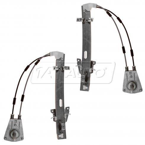 1992-96 Mazda MX-3 Manual Window Regulator Front PAIR