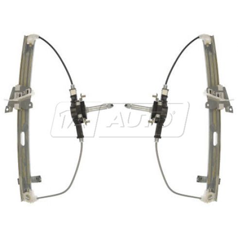 1999-03 Mazda Protege Manual Window Regulator Front PAIR