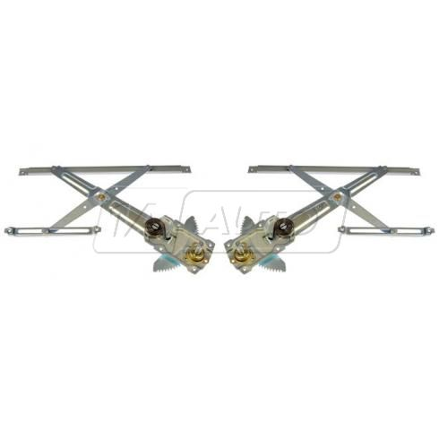 2005-00 Toyota Echo Manual Window Regulator Front PAIR