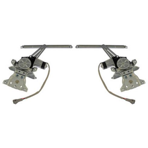 96-00 Toyota Rav4 Power Window Regulator w/Motor REAR PAIR