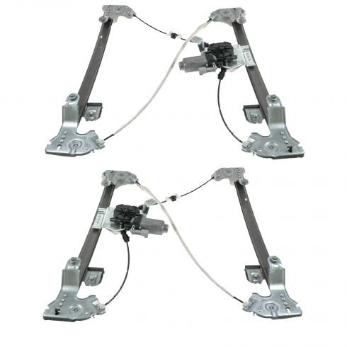 04-08 F150 4dr; 06-08 Lincoln Mark LT Power Window Regulator PAIR