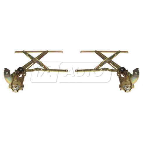 1991-94 Toyota Tercel Manual Window Regulator Front PAIR