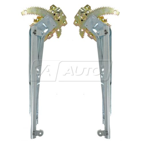 1987-91 Toyota Camry Sedan Manual Window Regulator Front PAIR