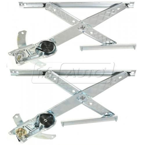 1997-98 Ford F150; 97-98 F250 (under 8500 GVW) Manual Window Regulator Front PAIR