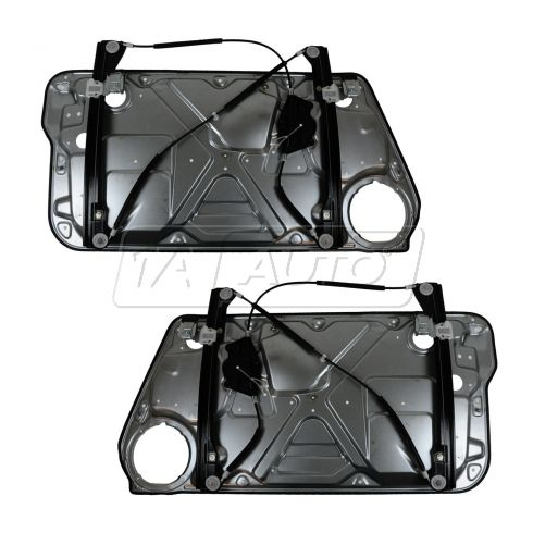 98-02 VW Beetle; 03-10 Beetle (exc Conv) Power Window Regulator Module (w/Panel) w/o Motor PAIR