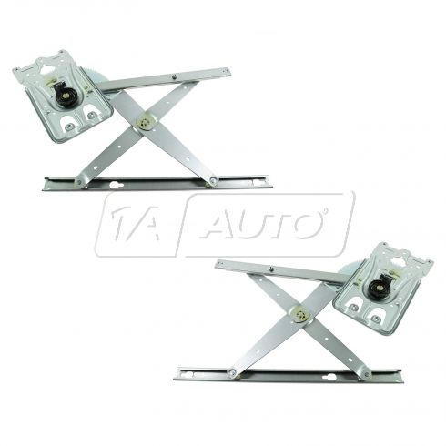 99-04 300M; 98-04 Concorde, Intrepid; 99-01 LHS Rear Door Power Window Regulator w/o Motor PAIR