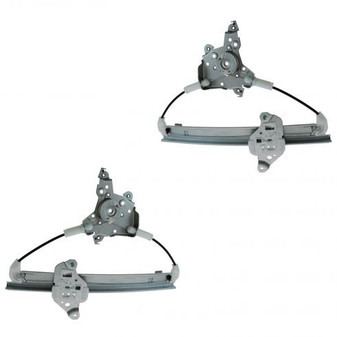 07-12 Nissan Altima; 07-11 Altima Hybrid; 09-12 Maxima Rr Door Power Window Regulator w/o Motor PAIR