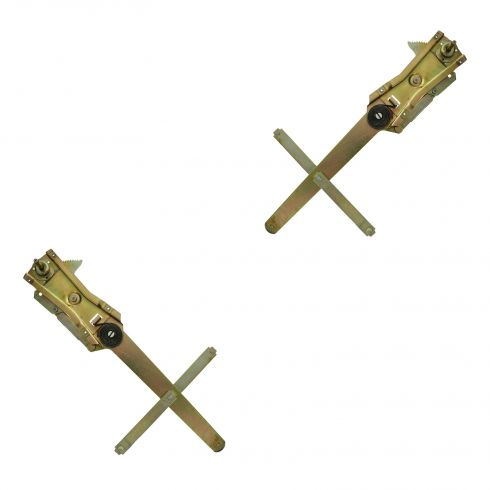 60-63 Chevy, GMC C/K Pickup, Suburban Front Door Manual Window Regulator PAIR