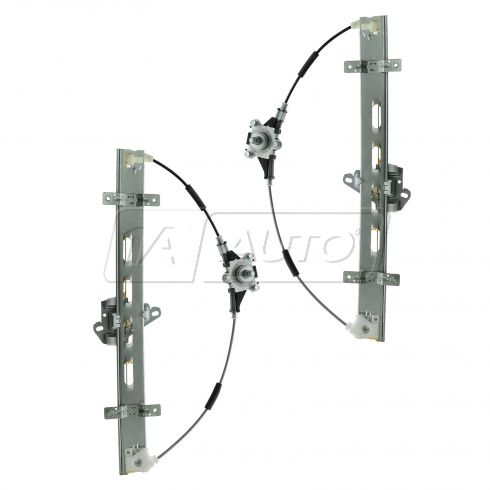 01-02 Honda Civic Sedan; 03-05 Civic Sedan (exc Hybrid) Front Door Manual Window Regulator PAIR