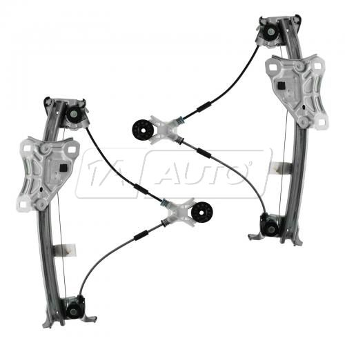 97-01 Lexus ES300 Rear Door Power Window Regulator w/Motor PAIR