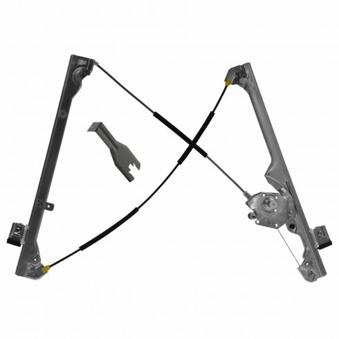 99-07 GM GMC Truck Manual Window Regulator RF w/ tool