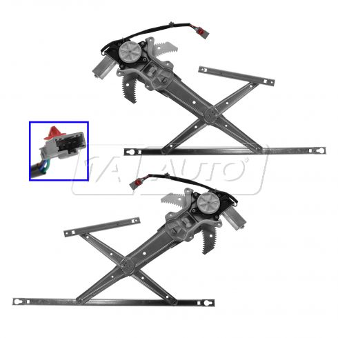 97-01 Honda CR-V Pwr Window Regulator & Motor Pair