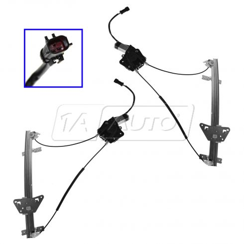 1998-03 Durango Power Window Regulator Pair Front