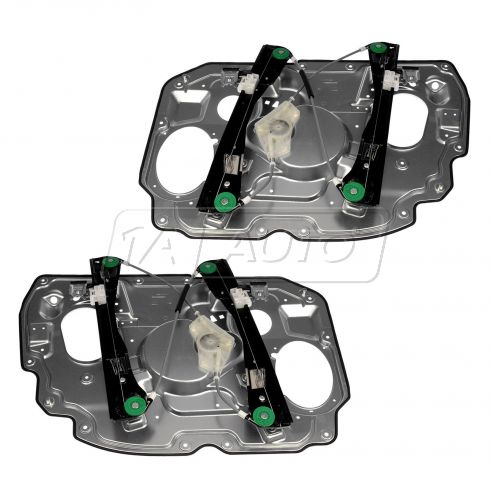 05-07 Five Hundred, Montego; 08-09 Sable, Taurus Frnt Door Pwer Window Regulator w/oMotor Pair