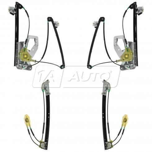 97-03 BMW E39 5 Series Front & Rear Power Window Regulator w/o Motor Kit