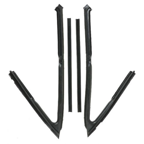 1962-67 Vent Window Weatherstrip set Convertible & 2 Door Hardtop
