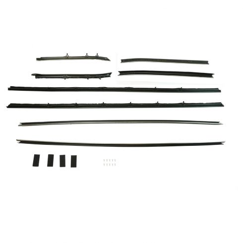 1968-69 Camaro Firebird Window Sweep Set Coupe Standard