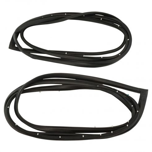 1977-85 Door Weatherstrip GM B Body 2 Door (Value)