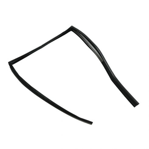 Glass Run Window Channel Weatherstrip Seal (with Metal Insert) REAR DOOR Driver Side for Sedan Models