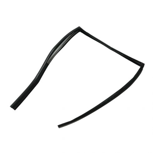 Glass Run Window Channel Weatherstrip Seal (with Metal Insert) REAR DOOR Passenger Side for Sedan Models