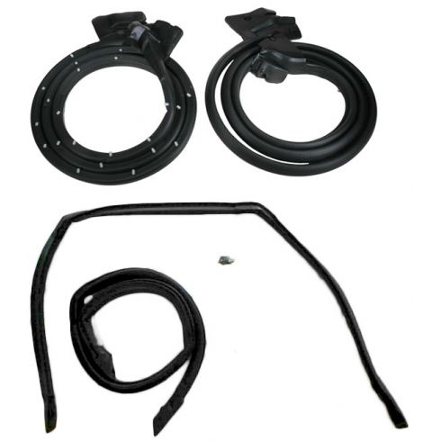 1978-87 El Camino Door and Roof Rail Weatherstrip Seal Kit