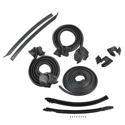 GTO Convertible 9 piece Weatherstrip set