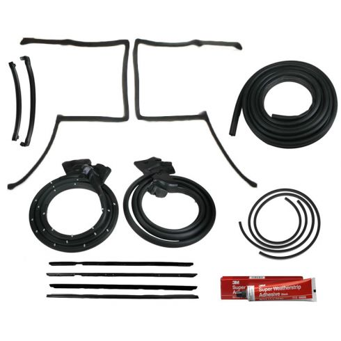 1978-86 Grand Prix Monte Carlo T-Top Weatherstrip Seal Kit