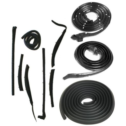 1959-60 Buick, Cadillac, Olds Convertible Weatherstripping Seals Kit