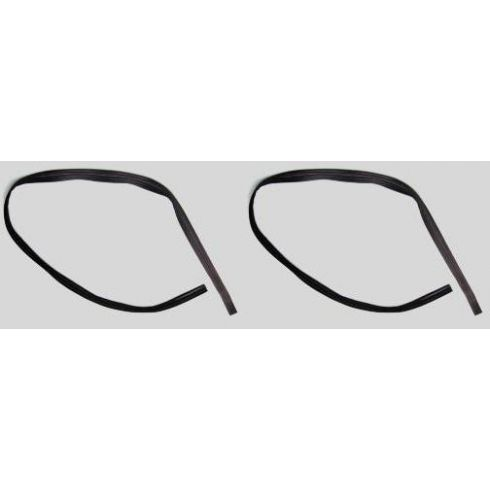 1964-72 Chevy El Camino Door Glass Run Weatherstrip PAIR