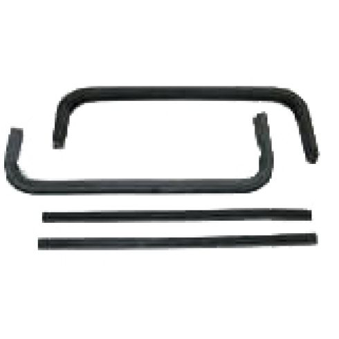 1960-63 GM PU Vent Glass Front & Rear Weatherstrip Seal SET