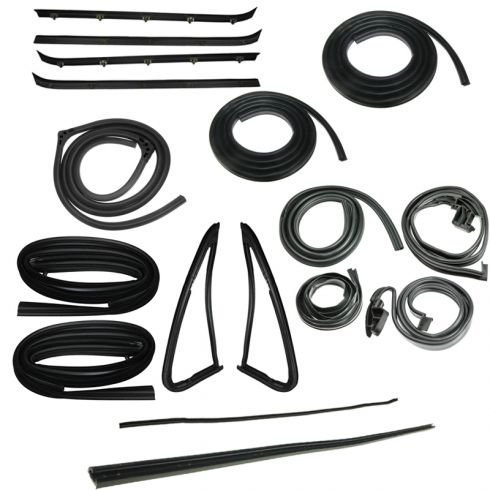 1981-91 Chevy Blazer GMC Jimmy Full Size Complete Weatherstrip Kit