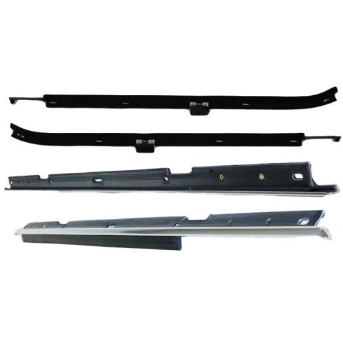 80-90 Chevy Caprice, Impala 4 Door Outer Belt Window Sweep (Set of 4)
