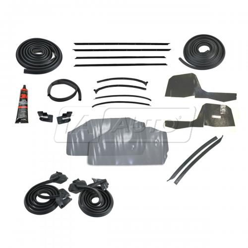 Complete Weatherstripping Seal Kit