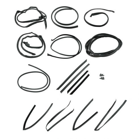 Complete Weatherstrip Kit