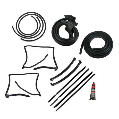 T-Top Weatherstrip Seal Kit (for models with Reveal Molding)