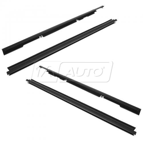 91-01 Ford Explorer Mountainer 2dr Inner & Outer Window Sweep SET of 4
