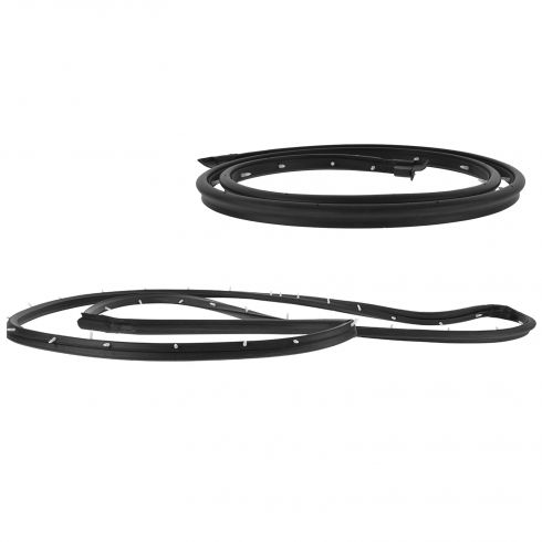 71-77 Dodge Van; 74-77 Plymouth Van Side Cargo Door Weatherstrip Seal Set