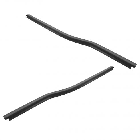 1999-15 Ford F250 F350 Super Duty; 00-05 Excusion Front Door Outer Window Sweep Pair