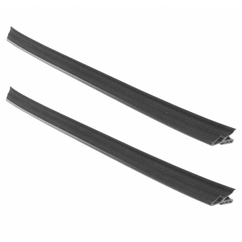 94-01 Dodge Ram 1500; 94-02 2500, 3500 Front Door Inner Belt Weatherstrip Molding Seal Pair (MP)