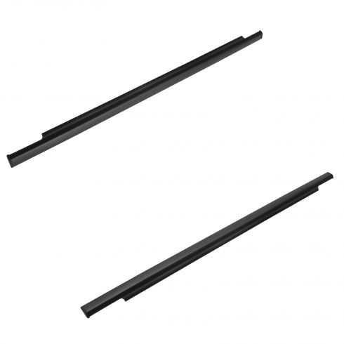 07-14 Toyota FJ Cruiser Rear Door Mtd Outer Belt Moulding Weatherstrip Sweep Pair (Toyota)