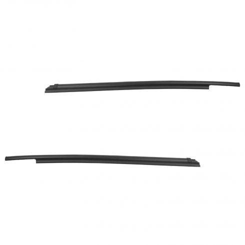 07-15 Toyota Tundra (Double/Ext Cab) Rear Door Outer Belt Weatherstrip Moulding PAIR (Toyota)