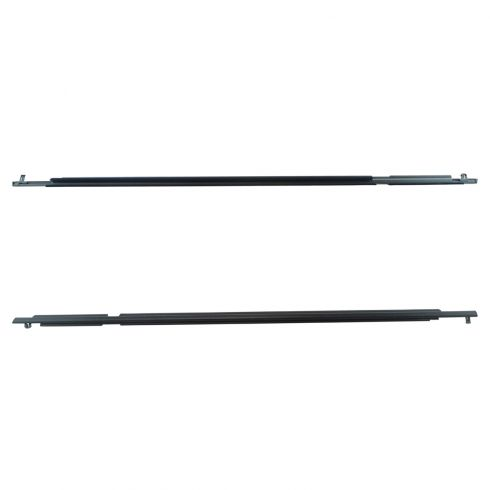 06-12 Toyota Rav4 Rear Door Outer Belt Molding Weatherstrip Sweep Pair (Toyota)