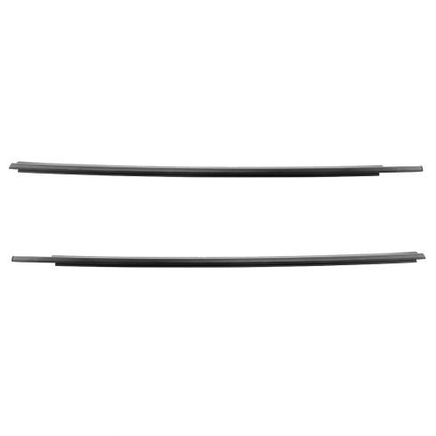 03-09 Toyota 4Runner Front Door Glass Outer Belt Molding Weatherstrip Seal Pair (Toyota)