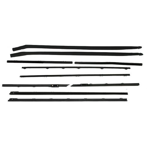 1965 Chevy Chevelle Convertible Window Sweep 10 Piece Set