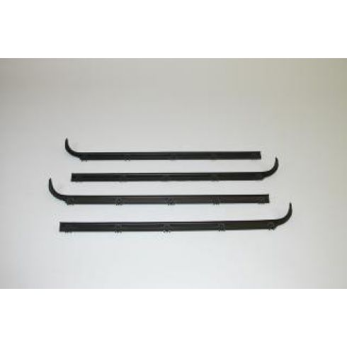 1983-88 Ranger; 1984-88 Bronco II w/Vent Windows Belt Weatherstrip 4 Piece Set
