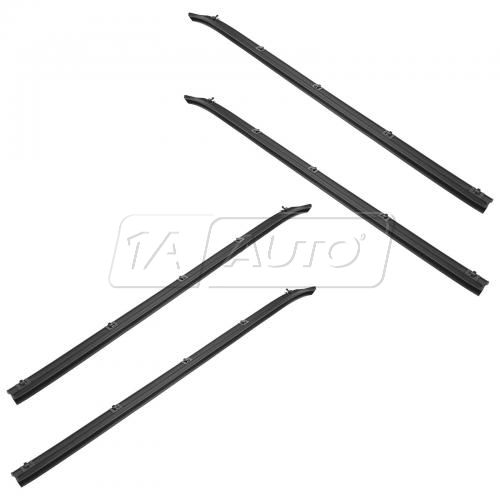 72-93 Dodge Pickup 4pc Window Sweep Set