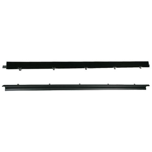 1982-93 Chevy S-10 pickup Blazer GMC S-15 Jimmy Front Door 2pc Outer Window Sweep Weatherstrip Kit