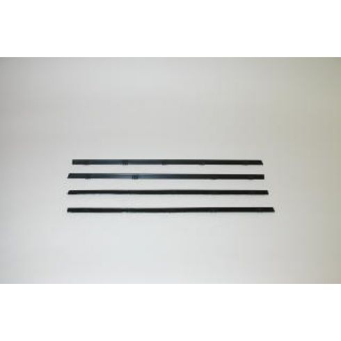 67-72 Chevy GMC Pickup Blazer Jimmy Window Sweep 4 Piece Set