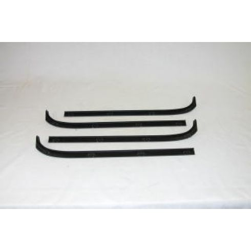 80-97 Dodge Van Window Sweep 4 Piece Set